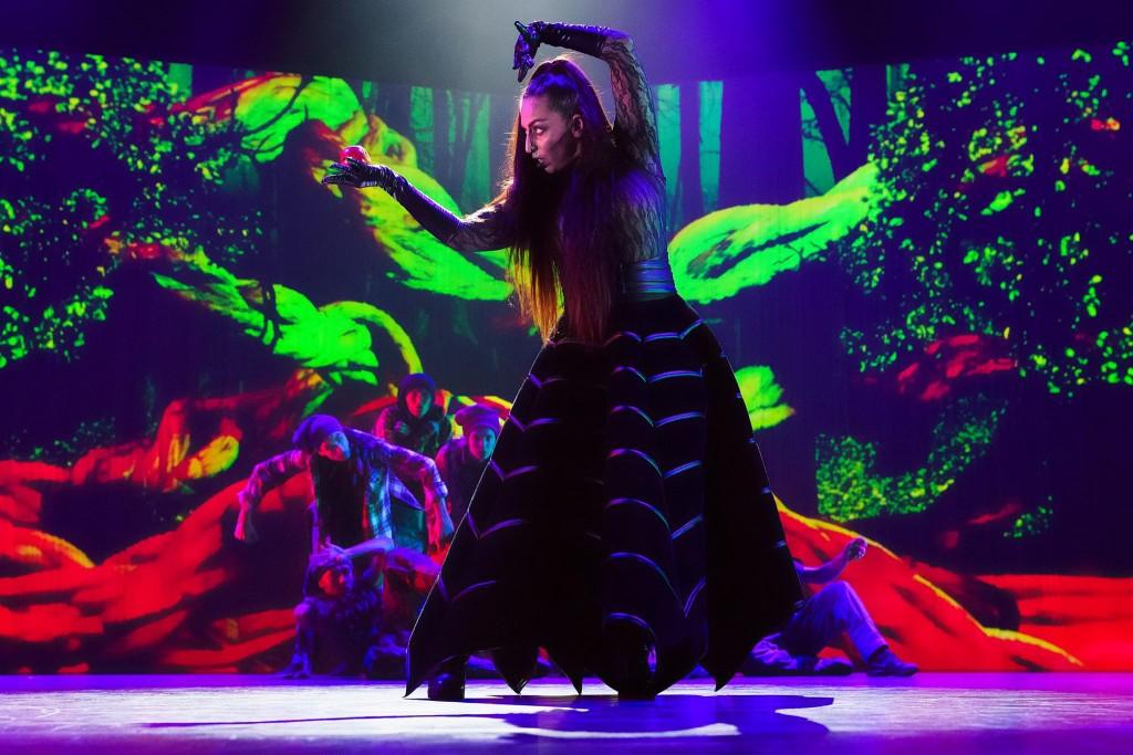 Sarada Sarita shining in 'GRIMM' by the Junior Company and ISH