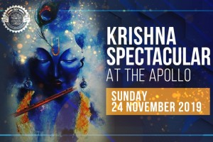 Premiere 'ABHAY' at 'Krishna Spectacular' in the Apollo Theater London