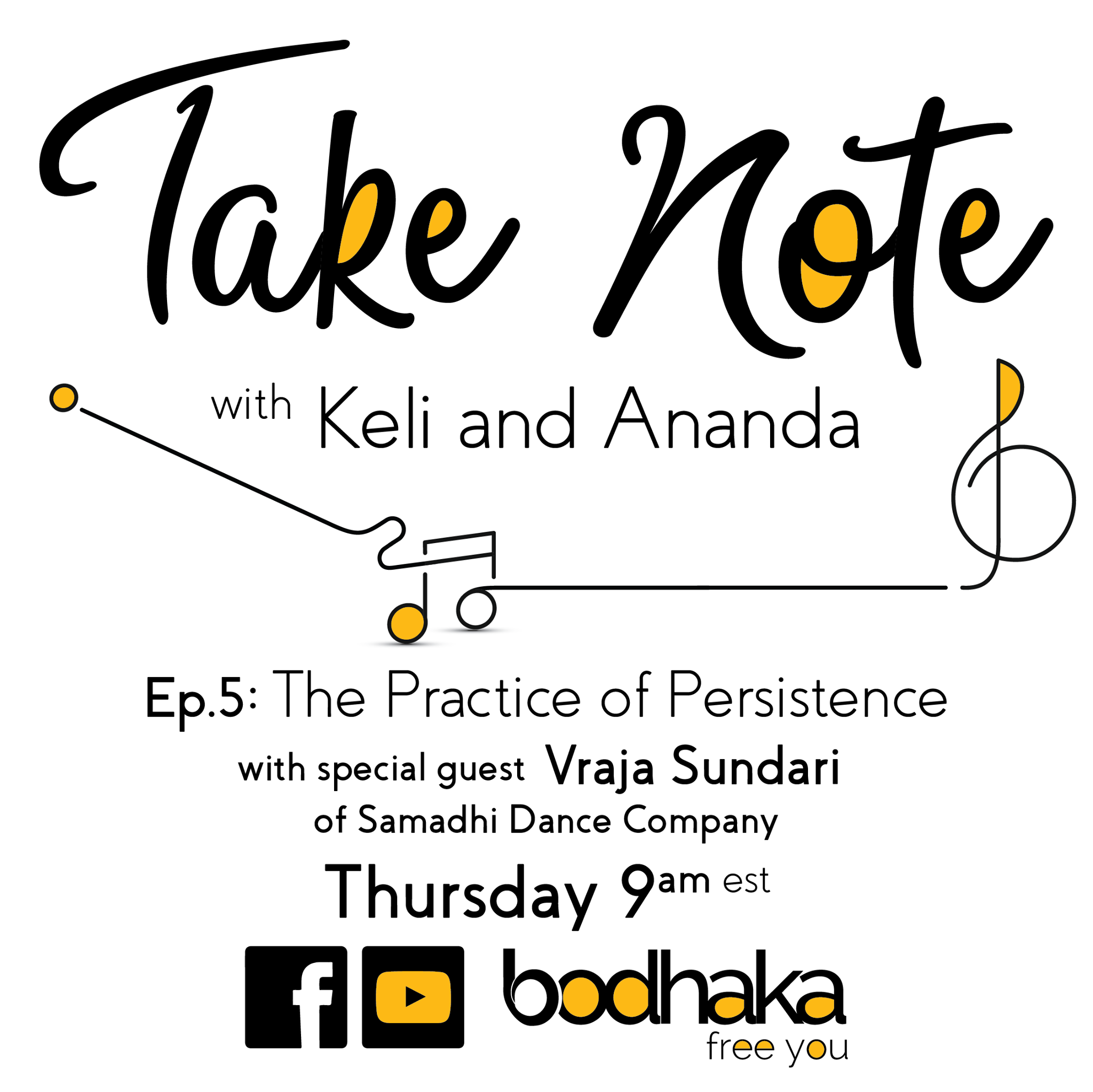 Interview at Take Note by Bodhaka