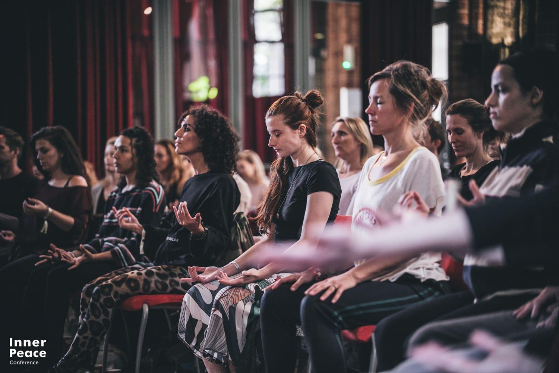 Vraja Sundari at the International Meditation Conference by Organic People.